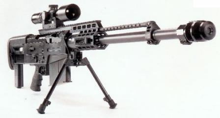Accuracy International AS50 sniper rifle (Great Britain)