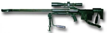 WKW Wilk / Tor large caliber sniper / antimaterial rifle (Poland)