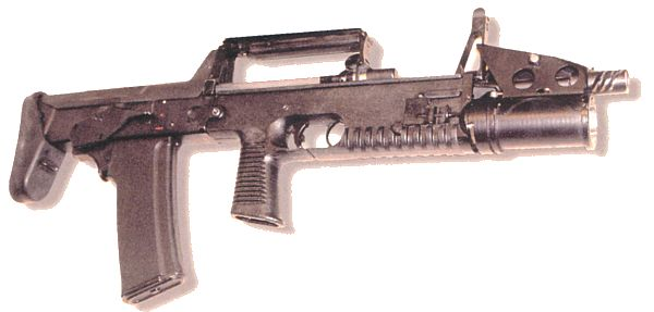 5.56mm NATO A-91 assault rifle, most recent version (2003).