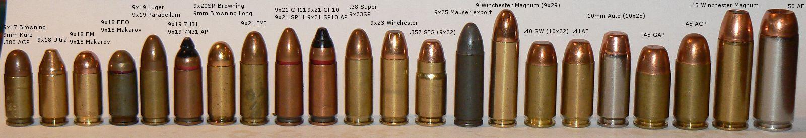 32 vs 380 Ammo