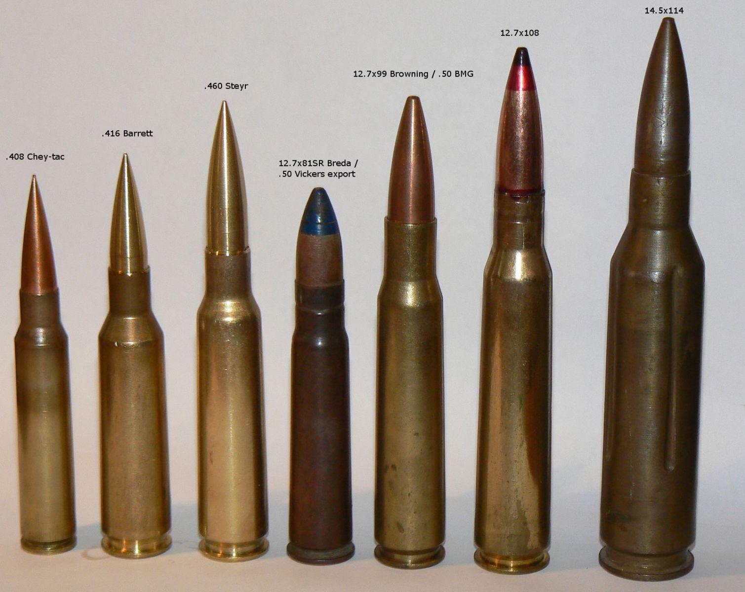 machine gun cartridges