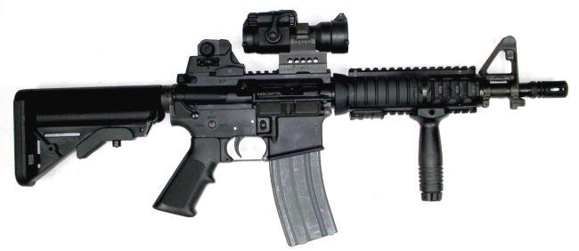 armas modernas rifles de asalto