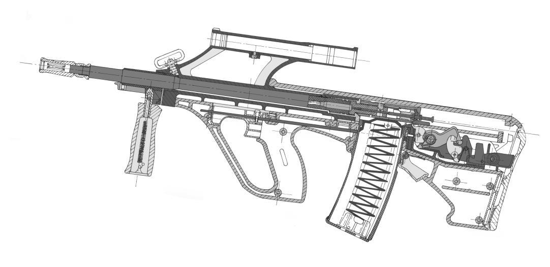 Modern Firearms - Steyr AUG