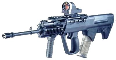 SAR-21 RIS (Rail Interface System), with reflex-type (
