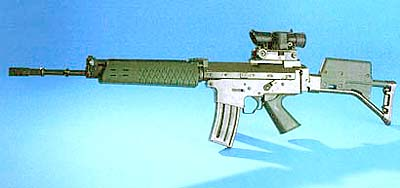 Bofors AK5B - scoped designated marksmen rifle