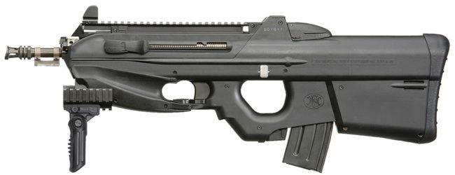 """FN F2000 assault rifle, in """"Tactical"""" configuration, with ..."""