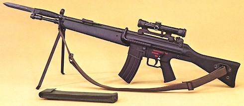 K 11 Gun 11 gun Heckler und Koch G41 (Germany)