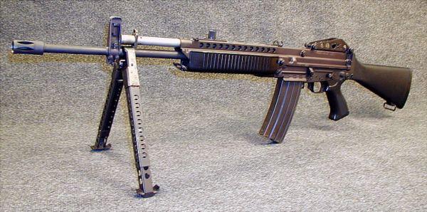 Stoner 63 modern firearms 556mm stoner 63a rifle with detachable bipod altavistaventures Images