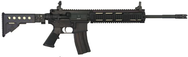 Z-M Weapons LR-300-SR semi-automatic rifle, late production version (circa 2006)