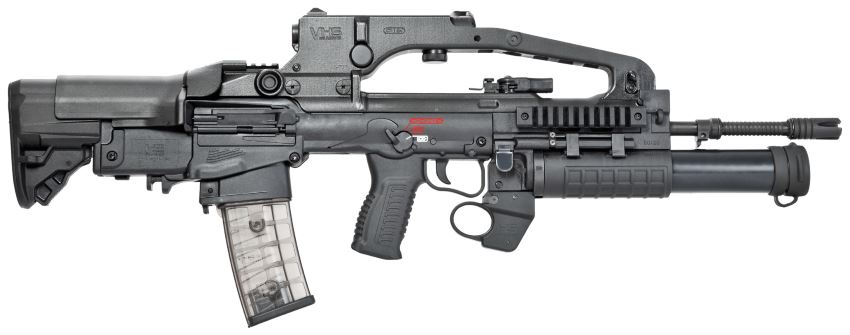 VHS D2 assault rifle with40mm grenade launcher