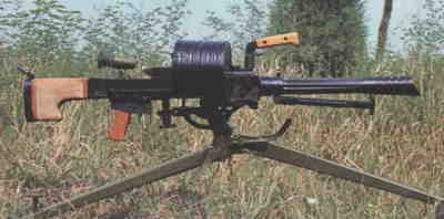 35mm W87 experimental automatic grenade launcher of late 1990s.