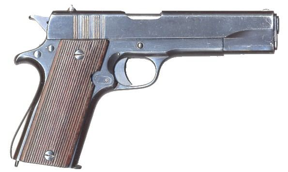 Ballester-Molina pistol, right side.