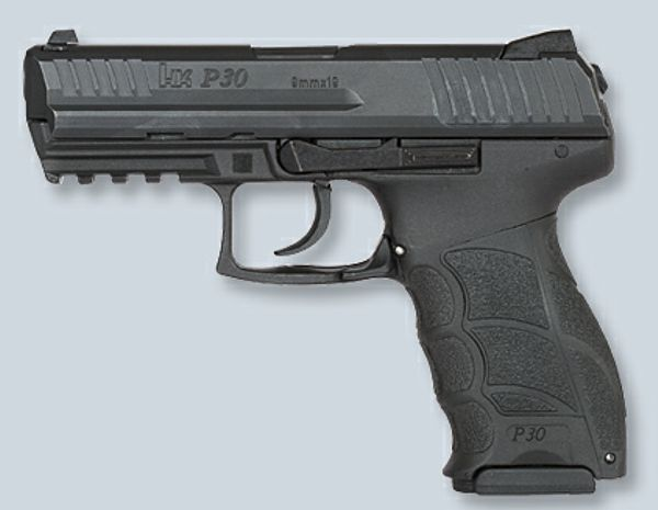 Koch P30.  УСМ: двойного действия Калибр: 9x19 мм Luger / Parabellum Длина: 177 мм Вес: 740 г Длина ствола...