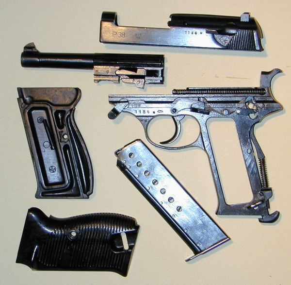 Disassembly Walther P38 Modern Firearms Walther P38