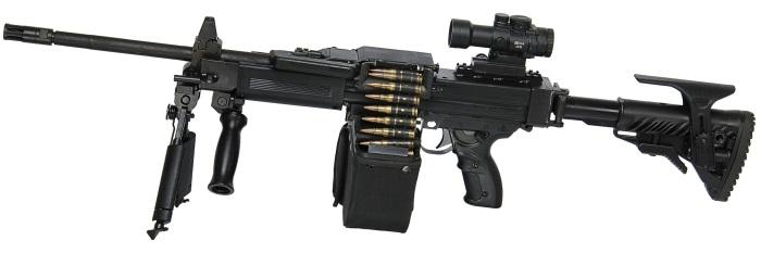 newest machine gun