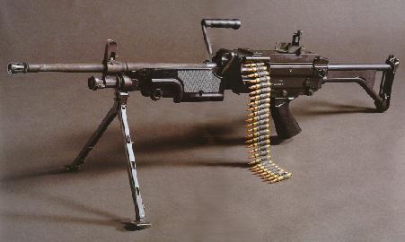 Armas, equipamiento y vehículos. M249saw