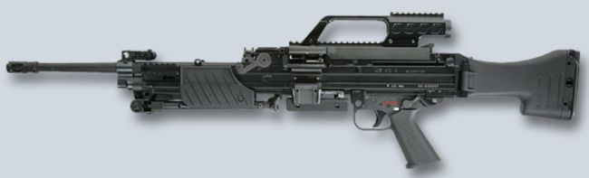 HK MG 4 - Modern Firearms