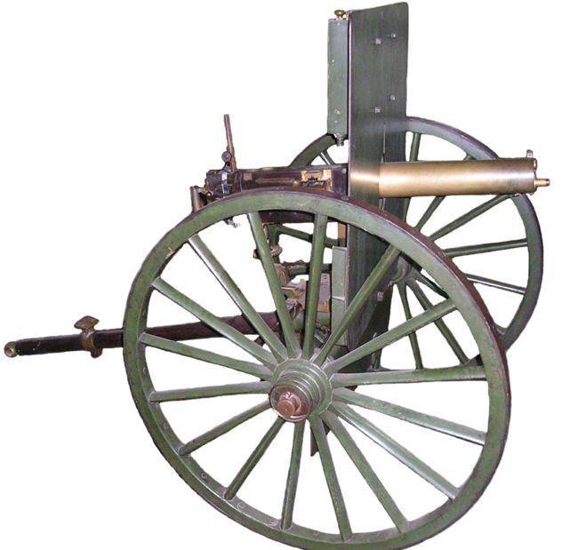 Старый пулемёт