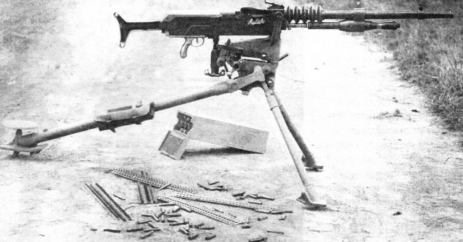 Image result for ww1 french hotchkiss machine gun