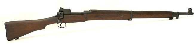 US .30 caliber M1917 rifle, right side.