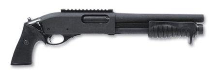 Помповое ружье для практической стрельбы.