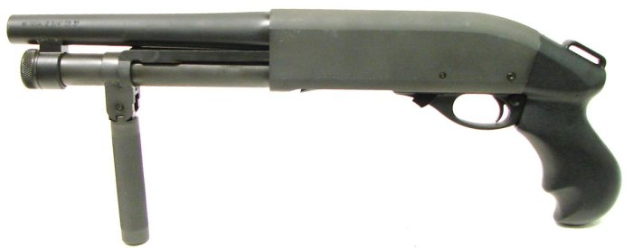 Serbu super shorty shotgun with 2 round magazine