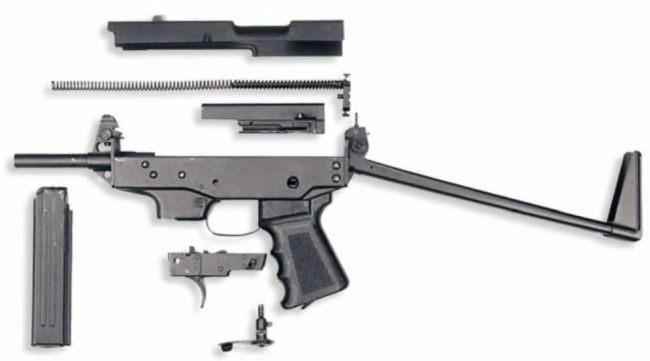 """Пистолет-пулемет """"Клин"""" ПП-9 с"""