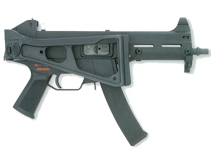 HK UMP-9 (note curved magazine).