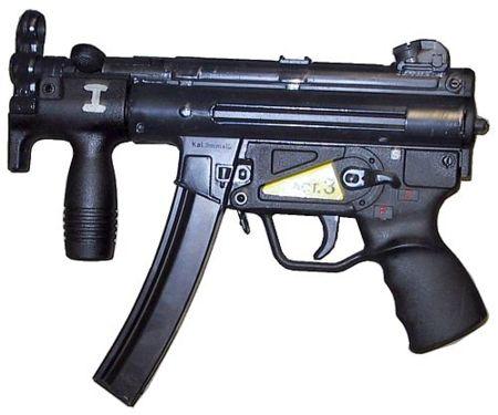 Произошли от Heckler & Koch MP-5k.