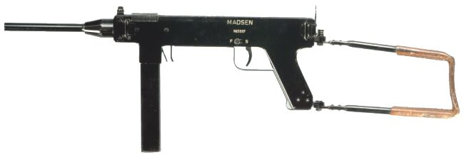 Madsen model 1946 submachine gun.