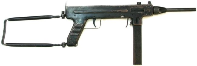 Madsen model 1950 submachine gun.