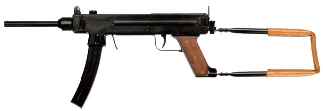 Madsen model 1953 submachine gun.