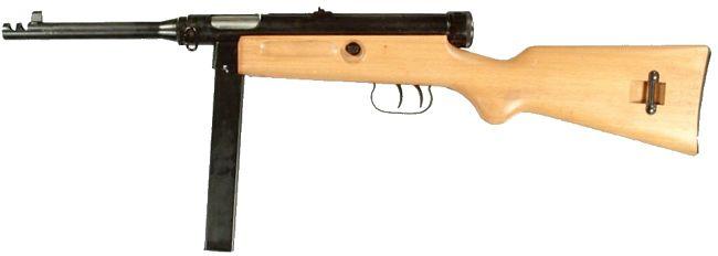 Beretta M1938 / 49 (Model 1949 veya Model 4) hafif makineli tüfek.