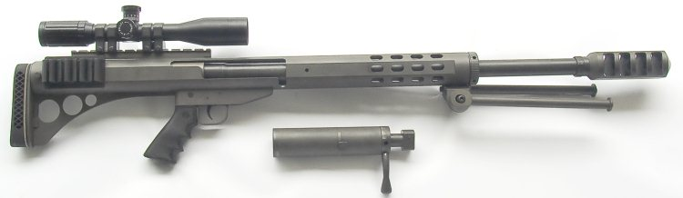 Rifle Antimaterial Peregrino FS50 (Uruguay)