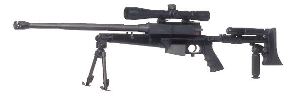 Ultima Ratio 'Commando II' rifle (with folding stock).