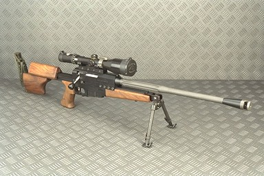 Ultima Ratio 'Intervention' rifle.