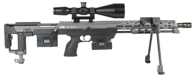 The DSR-1 sniper rifle in basic configuration.