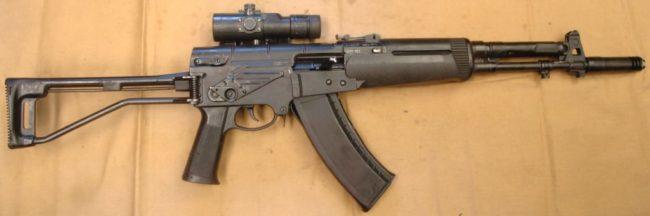 автомат АЕК-971 выпуска до 2006 года, произведенный на КМЗ