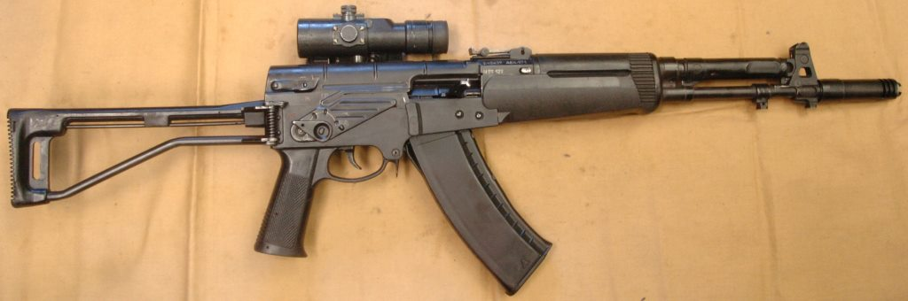 Early (pre-2006) production AEK-971 assault rifle
