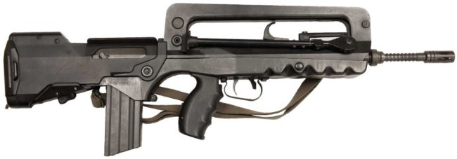 FAMAS F1 rifle, right side view