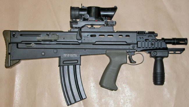 L22A2 carbine