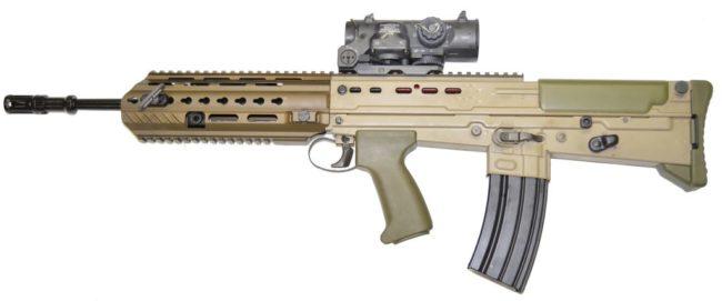 L85A3 rifle
