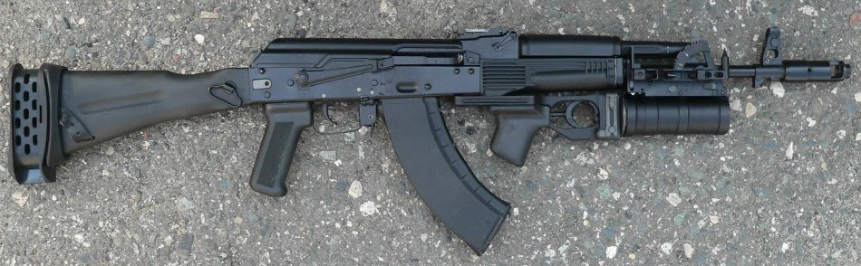 GP34 mounted on an AK103 Assault Rifle