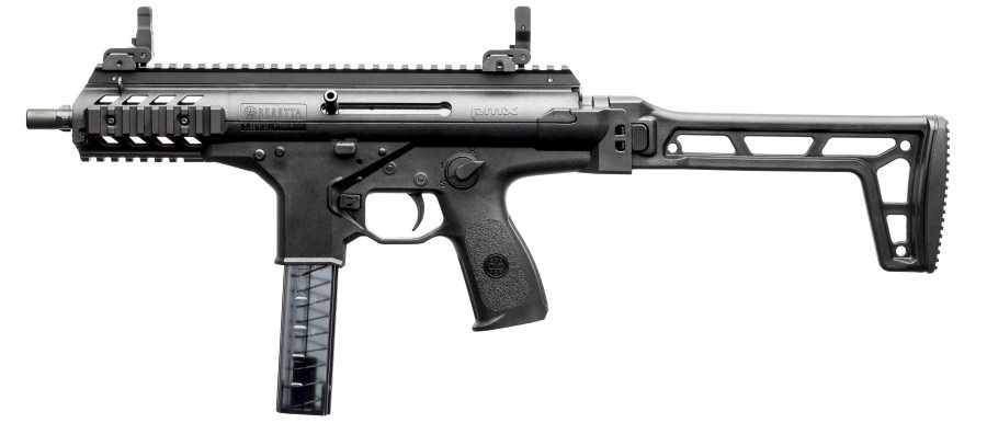 Beretta PMX submachine gun, left side