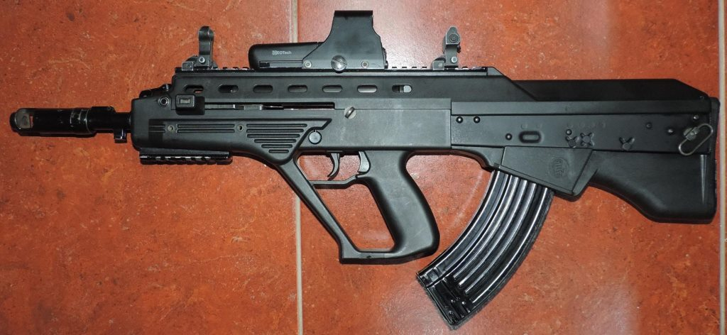 Malyuk assault rifle