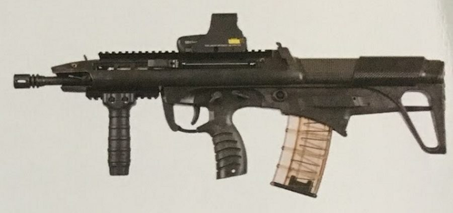 BR18 assault rifle