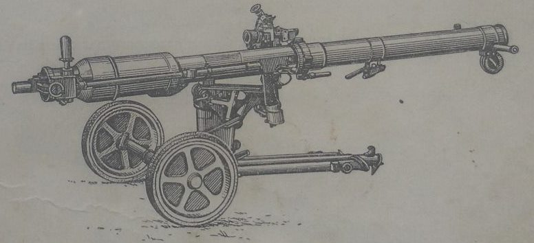 82mm B-10 recoilless gun