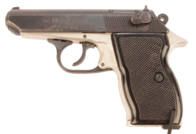 Carpati Md.74 semiautomatic pistol