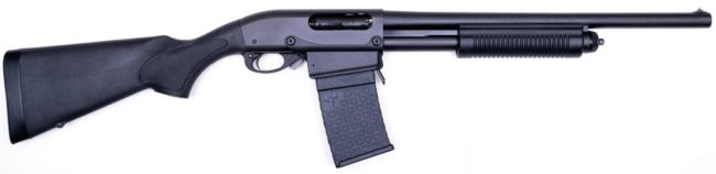 Remington 870DM shotgun
