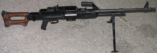 UKM-2000D machine gun for airborne troops